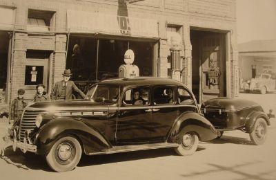 1938 Hudson Terraplane with Mull