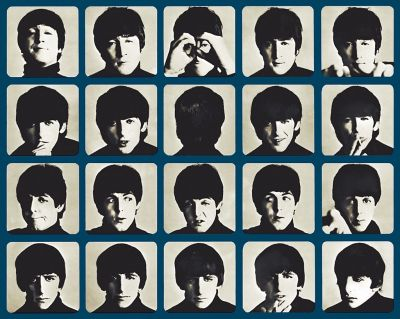 A Hard Day's Night LP cover
