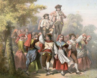 Branle d'Ossau by Alfred Dartiguenave