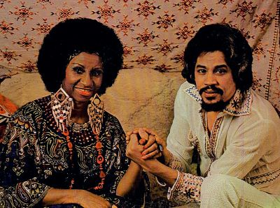 Celia and Johnny LP cover