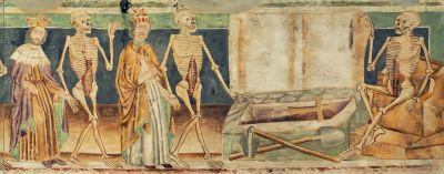 Dance of Death replica of 15th century fresco