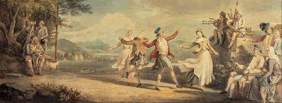 A Highland Dance by David Allan