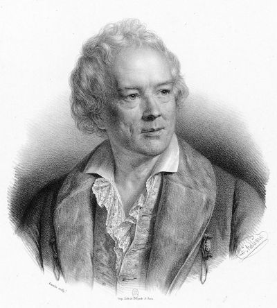 Christoph Willibald Gluck by Zéphirin Belliard