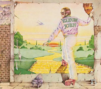 Goodbye Yellow Brick Road LP cover