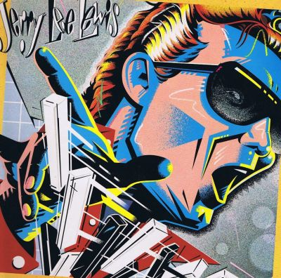Jerry Lee Lewis LP cover