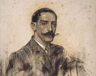 Joaquim Malats by Ramon Casas