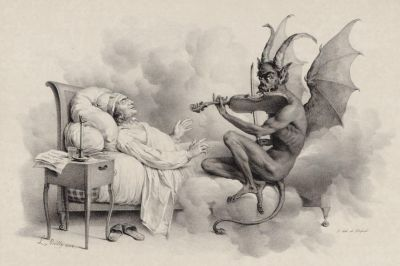 Tartini's Dream by Louis-Léopold Boilly