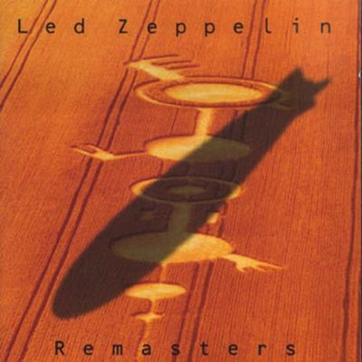 Led Zeppelin Remasters CD cover