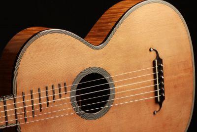 Luigi Legnani Guitar Model 1827 by René Lacôte