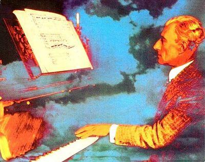 Maurice Ravel LP cover