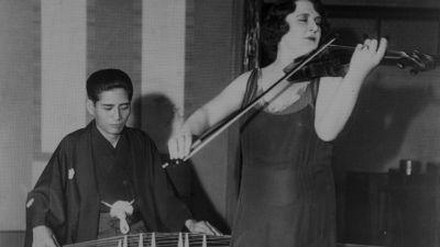 Michio Miyagi and Renée Chemet