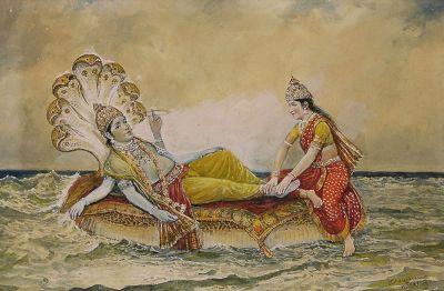 Sheshashayi - Laxminarayan by M. V. Dhurandhar