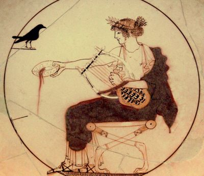 The Cylix of Apollo with the Lyre