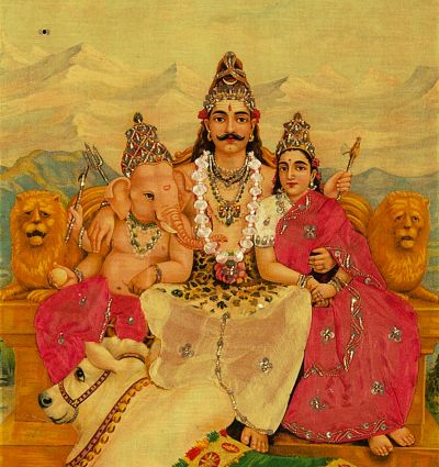 The Holy Family by Raja Ravi Varma