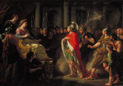 The Meeting of Dido and Aeneas by Nathaniel Dance Holla