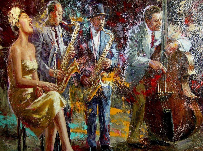 Billy Holiday by Nenad Mirkovich