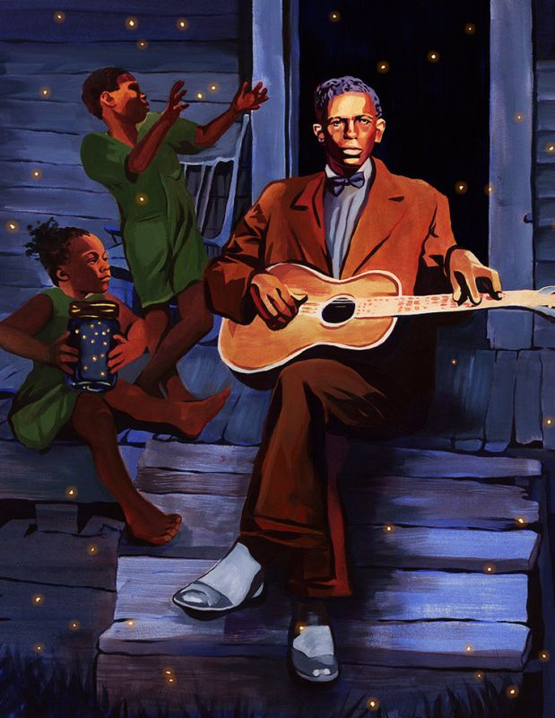 Charley Patton by Olivia Wise