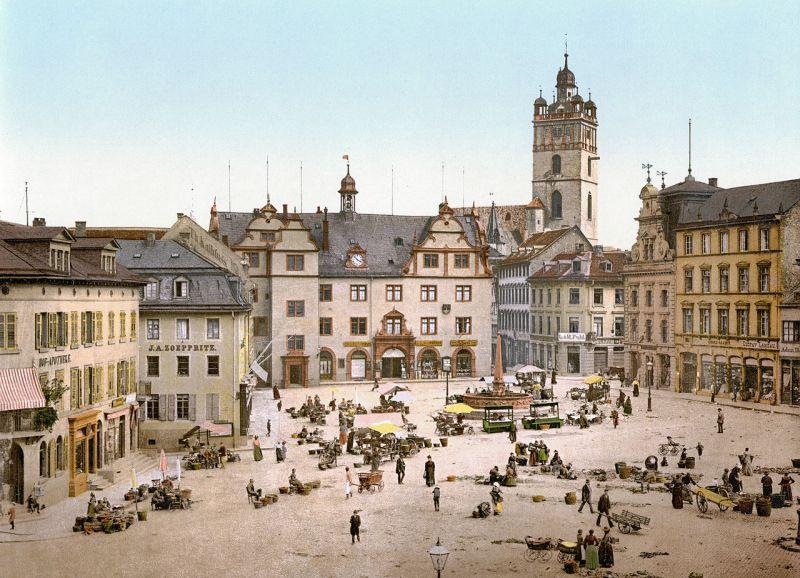 Darmstadt um 1900