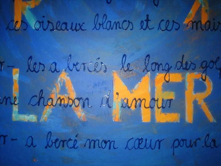 La Mer by Claudia Melters