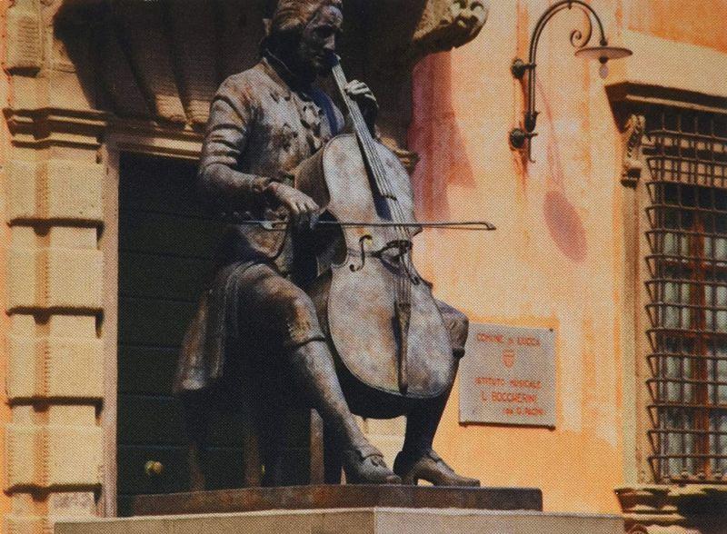Statue Of Luigi Boccherini in Lucca by Daphné Du Barry