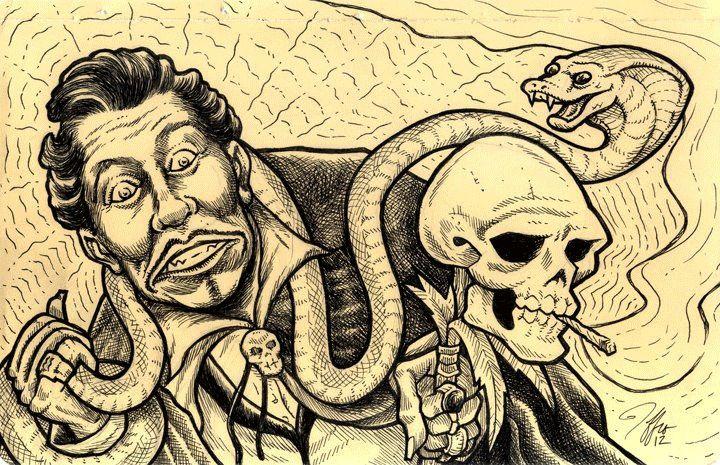 Screamin' Jay Hawkins by Jeffro Kilpatrick