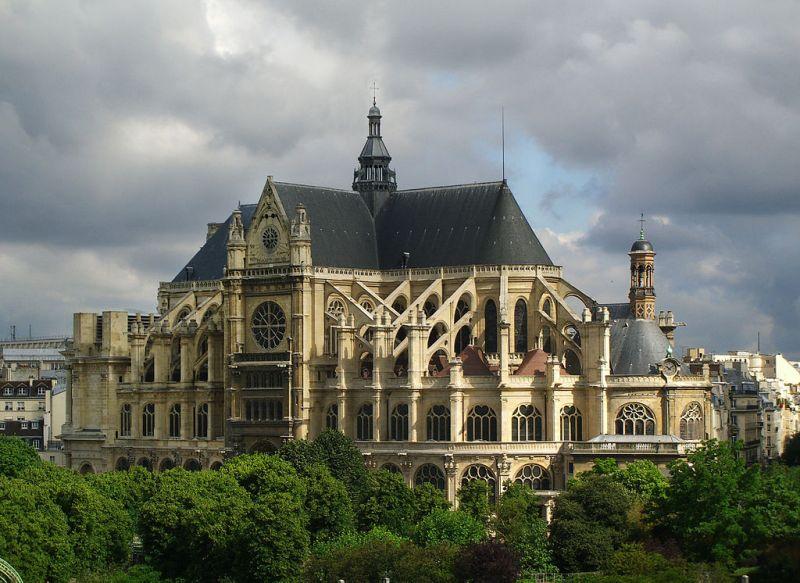 St.-Eustache in Paris
