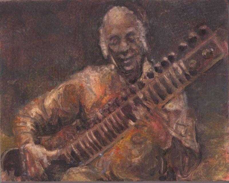 Vilayat Khan by Berry van Boekel