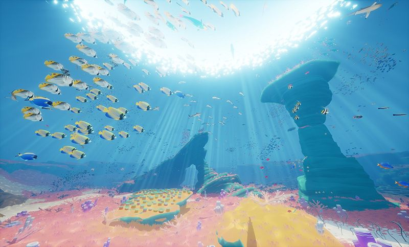 Abzû adventure video game scored by Austin Wintory