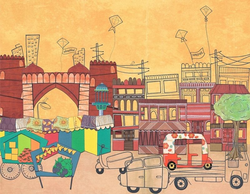 Ahmedabad, Gujarat by Redbubble