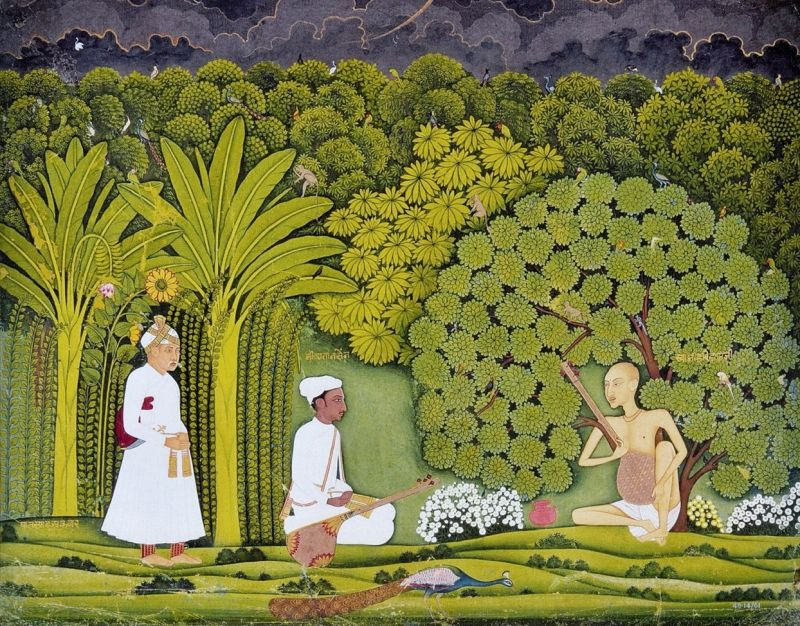 Akbar and Tansen visit Haridas