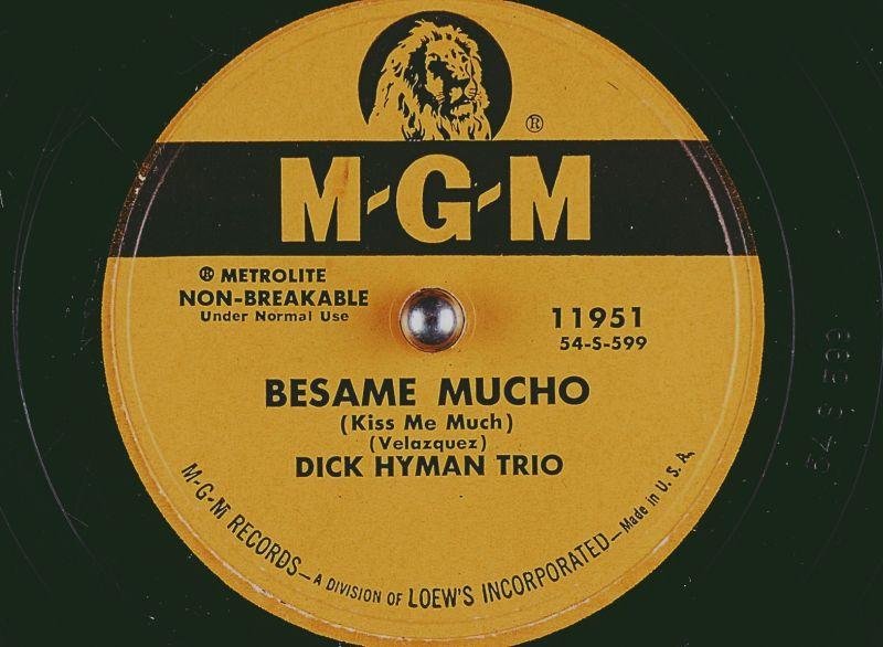 Besame Mucho by Dick Hyman Trio