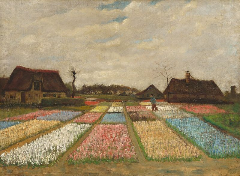 Bulb Fields by Vincent van Gogh