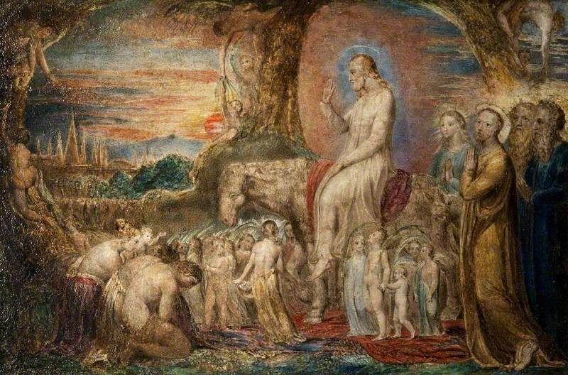 Christ's Entry into Jerusalem by William Blake