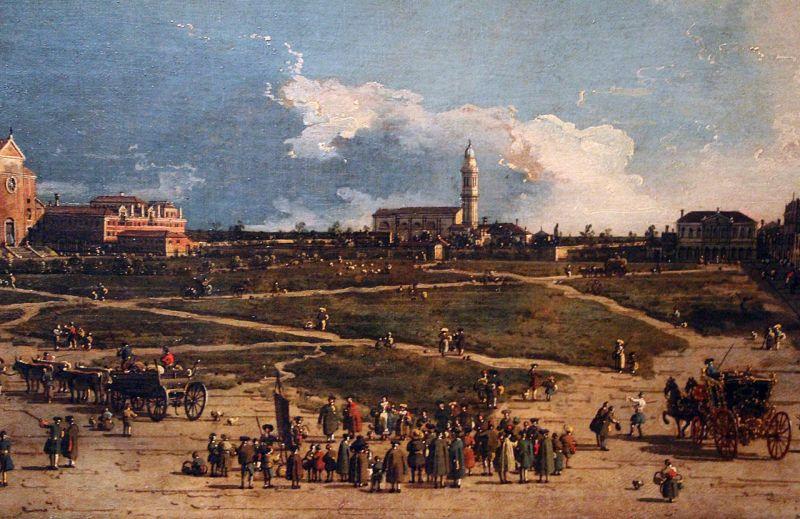 Il Pra'Della Valle a Padova by Canaletto
