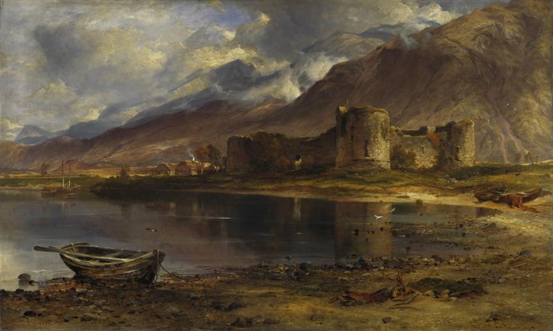 The Ruins of Inverlochy Castle by Horatio McCulloch