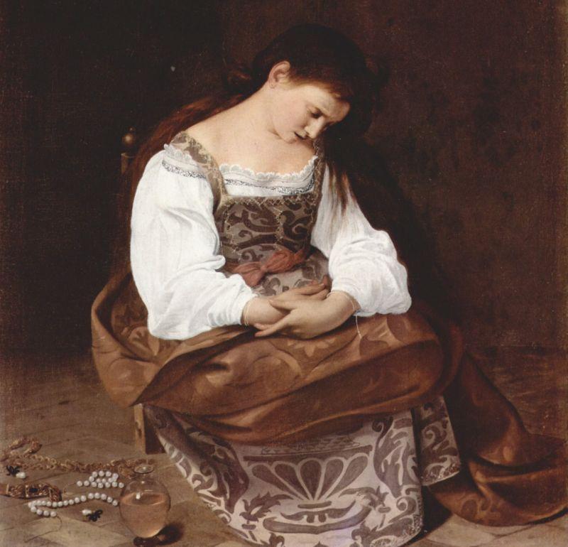 Maria Magdalena by Caravaggio