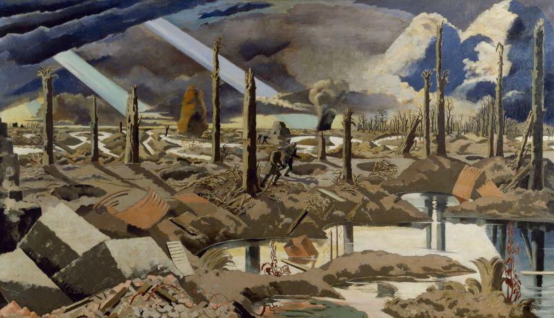 Paul Nash 'The Menin Road'