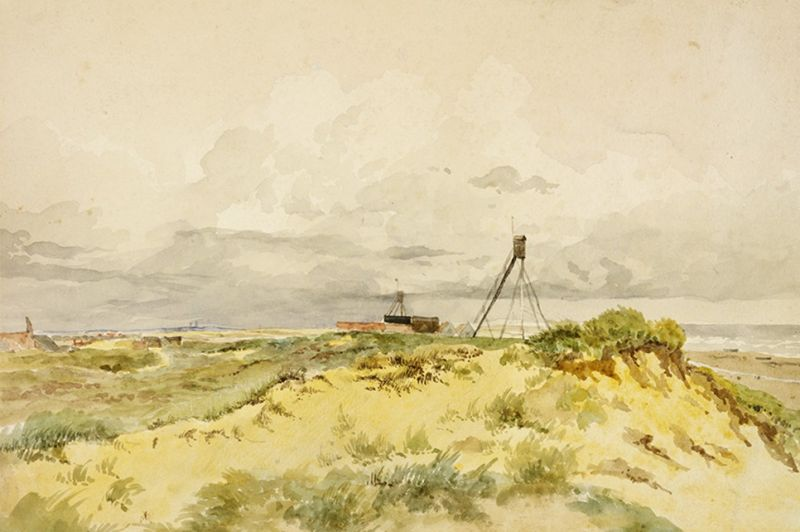 Winterton, Norfolk: Sandhills on the Coast by James Stark