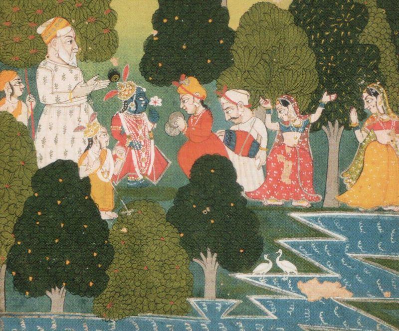 Sur Sagar manuscript