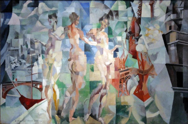 The City of Paris by Robert Delaunay