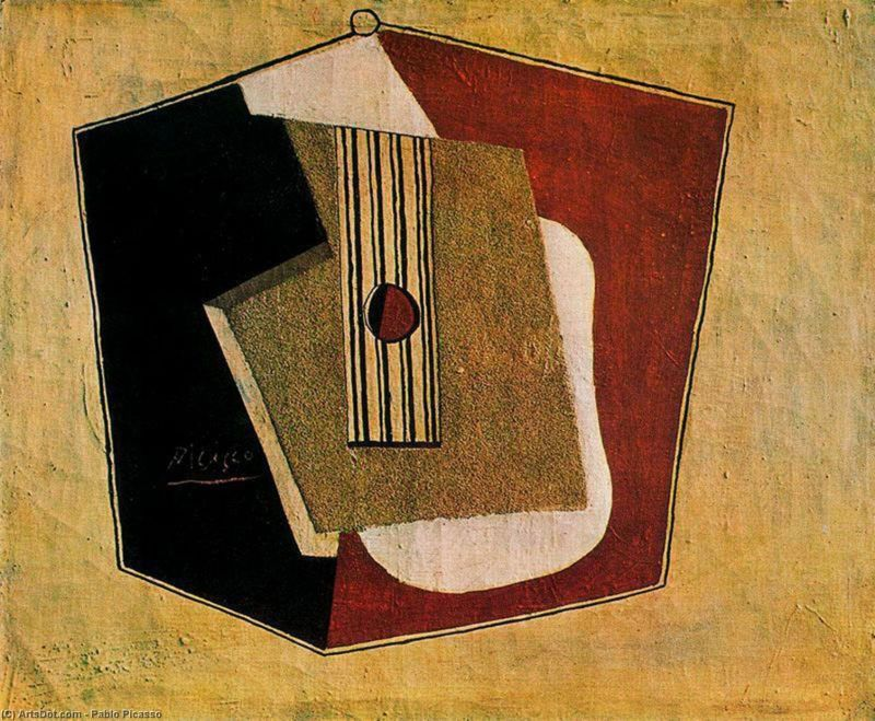 The Guitar by Pablo Picasso