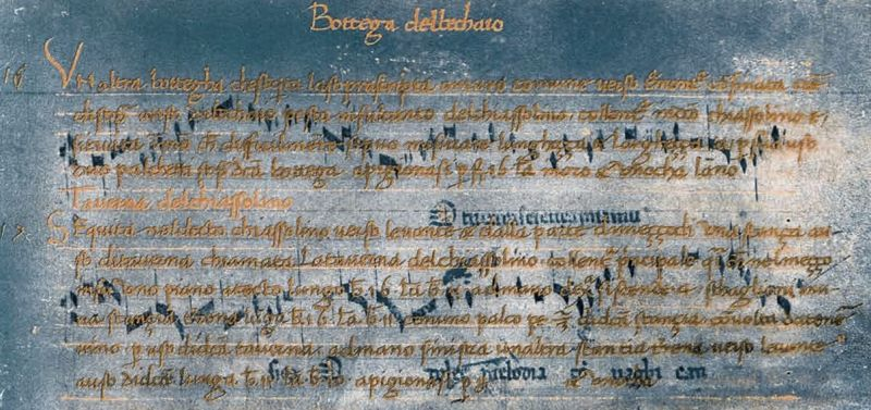 The San Lorenzo Palimpsest