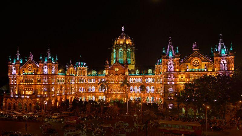 Victoria Terminus in Mumbai
