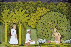 Akbar and Tansen visit Haridas