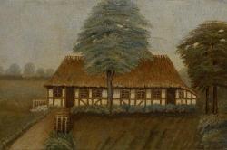 Carl Nielsen's Birthplace at Sortelung by Albert Nielsen