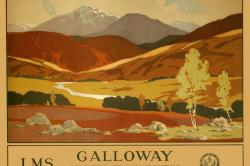 Galloway Travel poster