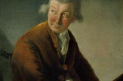 Karl Friedrich Abel by Alexandre Auguste Robineau