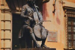 Statue Of Luigi Boccherini in Lucca by Daphné Du Barry