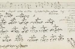 Music Manuscript by Alî Ufukî
