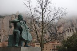 Pau Casals at Montserrat